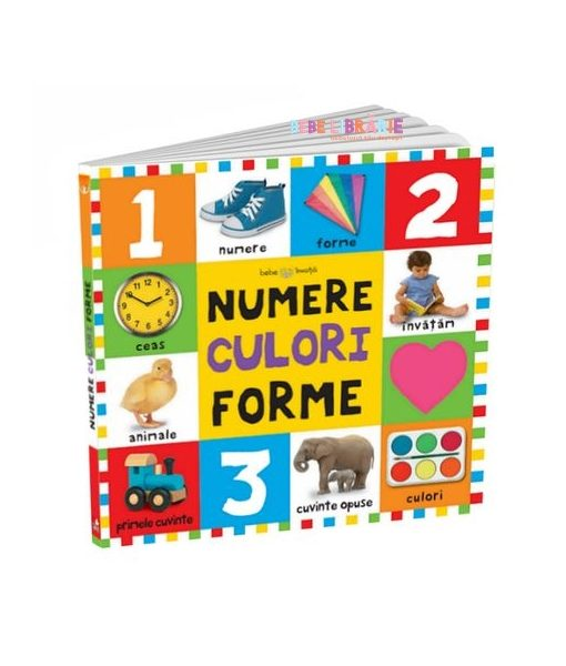 Numere, culori, forme