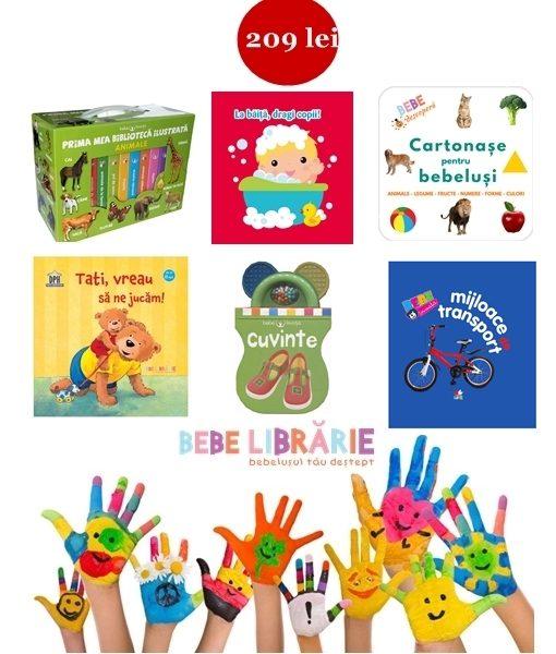 carti cartonate pentru bebelusi 0-1 an