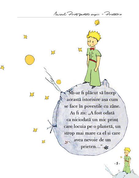 Micul print pentru copii- Prietenia - BebeLibrarie.ro