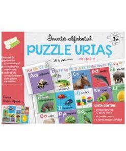 invata alfabetul puzzle urias