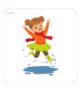 Cartonase pentru bebelusi – Anotimpuri, Notiuni opuse, Invat sa povestesc 1