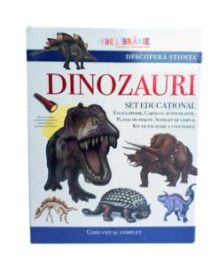 dinozauri. descopera stiinta. set educational