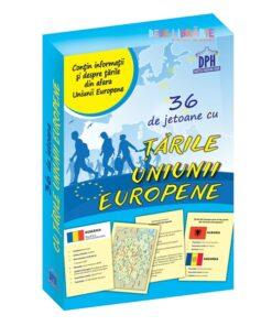 6 de jetoane cu tarile Uniunii Europene