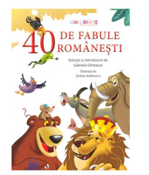 40 de fabule romanesti