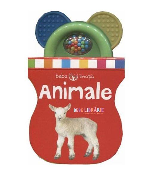 animale carte cu jucarie. bebe invata