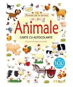 povesti de la ferma. animale. carte cu autocolante