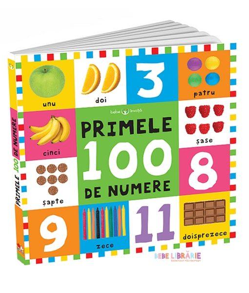 Primele 100 de numere. Bebe invata