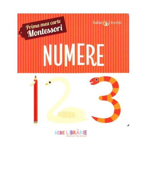 Numere. Prima mea carte Montessori
