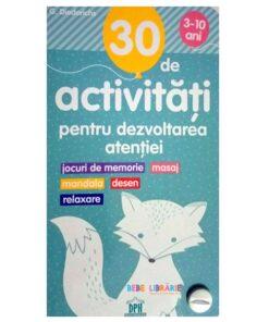 30 de activitati pentru dezvoltatea atentiei