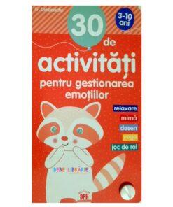 30 de activitati pentru gestionarea emotiilor