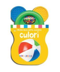 Culori, carte cu jucarie. Bebe invata