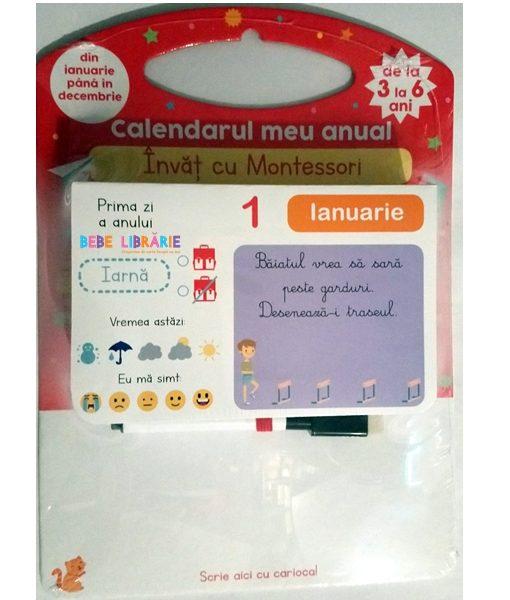 Invat cu Montessori. Calendarul meu anual