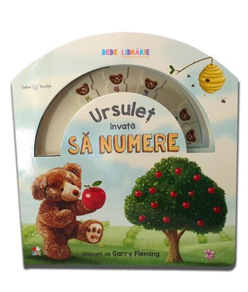 Ursulet invata sa numere. Bebe invata