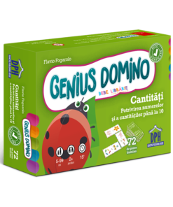 Genius domino - Cantitati - Potrivirea numerelor si a cantitatilor pana la 10
