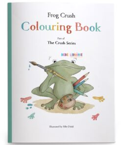 Frog Crush Colouring Book