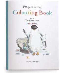Penguin Crush Colouring Book